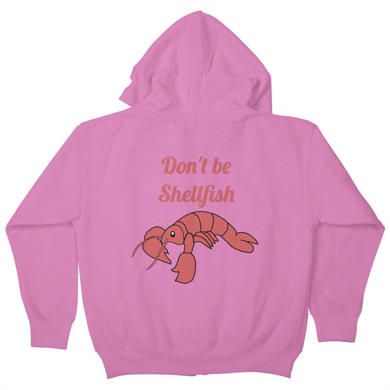 Shellfish Lobster Kids Zip-Up Hoody by Birchmark