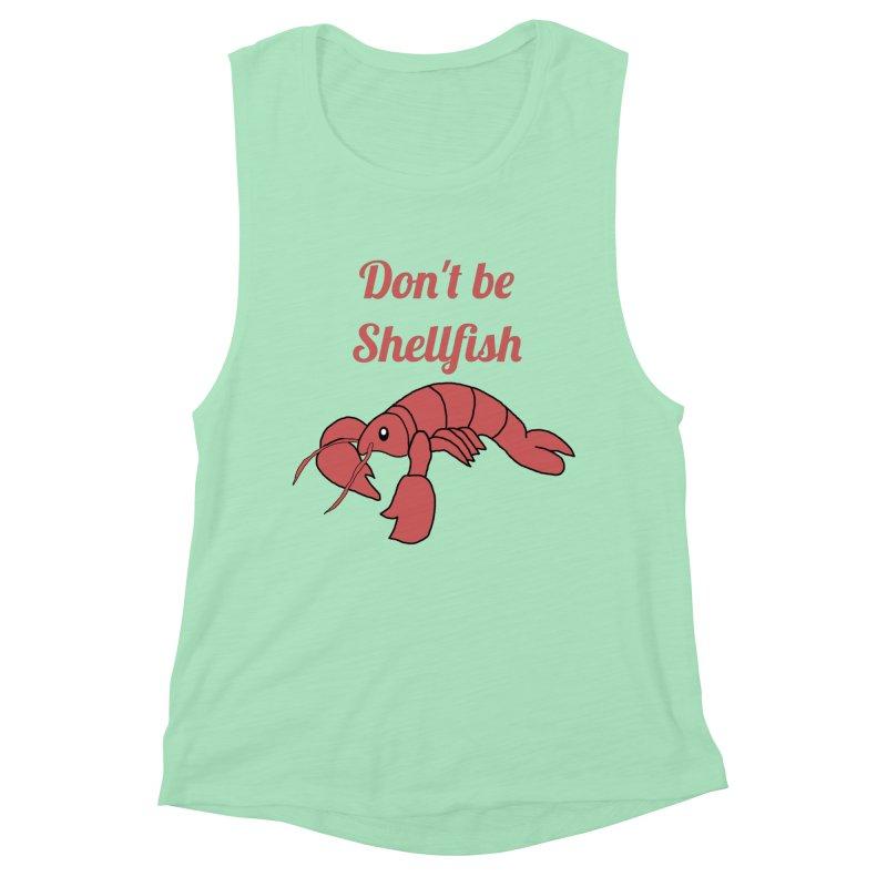 Shellfish Lobster Women's Muscle Tank by Birchmark