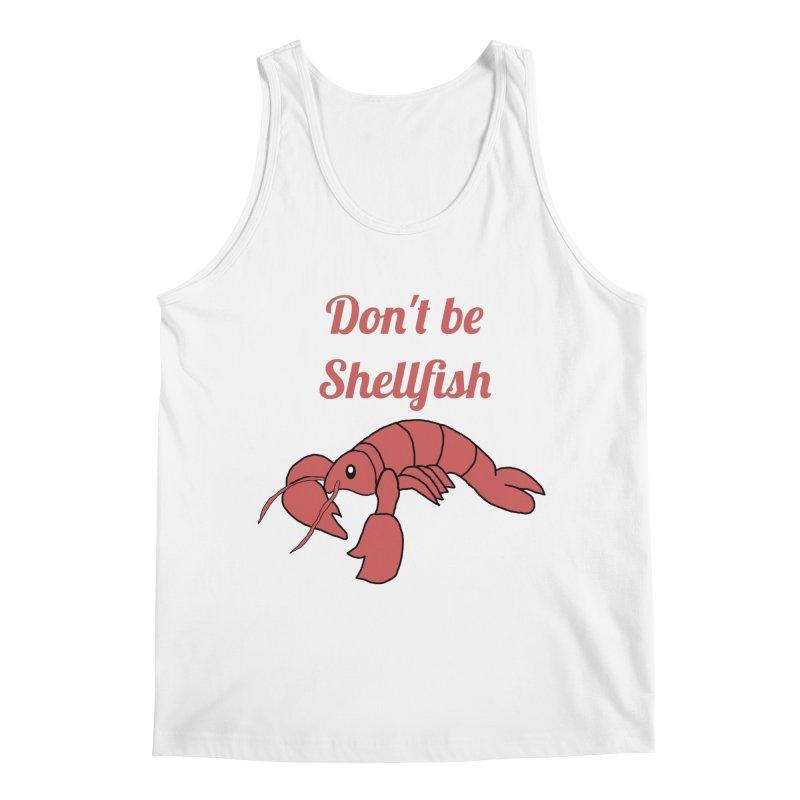 Shellfish Lobster Men's Regular Tank by Birchmark
