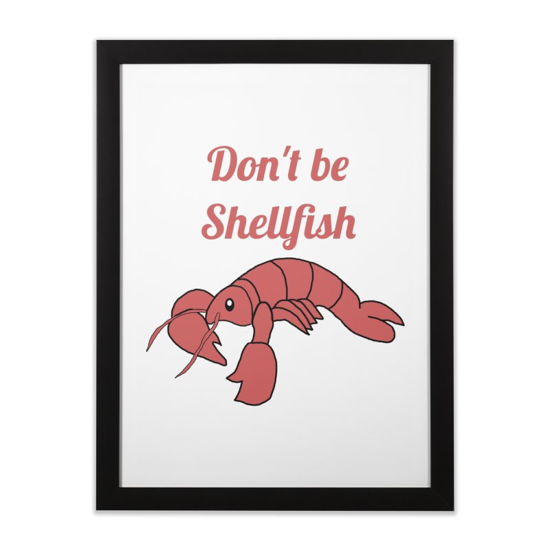 Shellfish Lobster Home Framed Fine Art Print by Birchmark