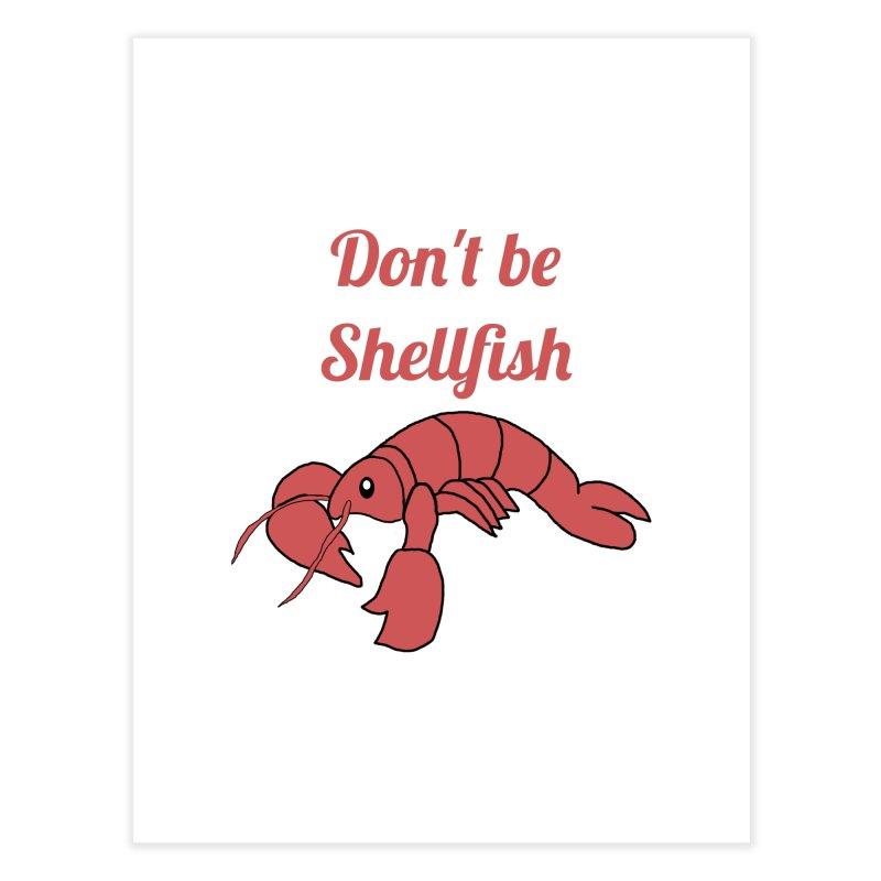Shellfish Lobster Home Fine Art Print by Birchmark