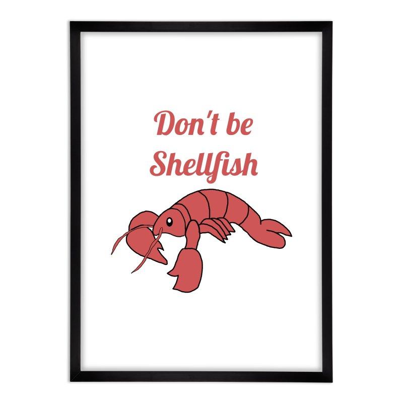 Shellfish Lobster Home Framed Fine Art Print by Birchmark