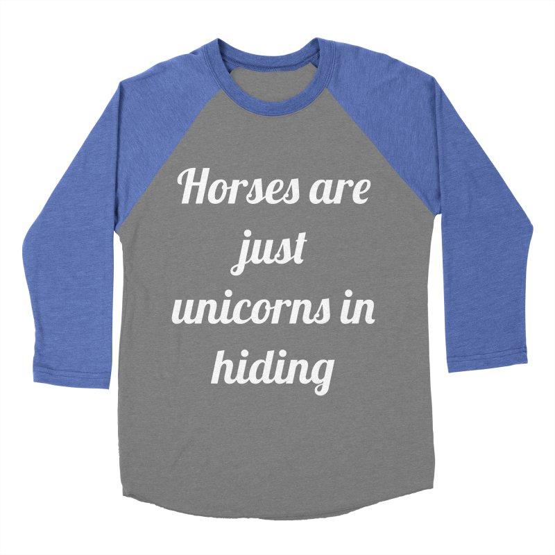 Unicorns in Hiding Women's Longsleeve T-Shirt by Birchmark