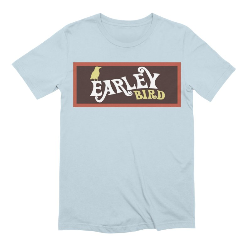 Earleybird Bar Men's Extra Soft T-Shirt by birdboogie's Artist Shop