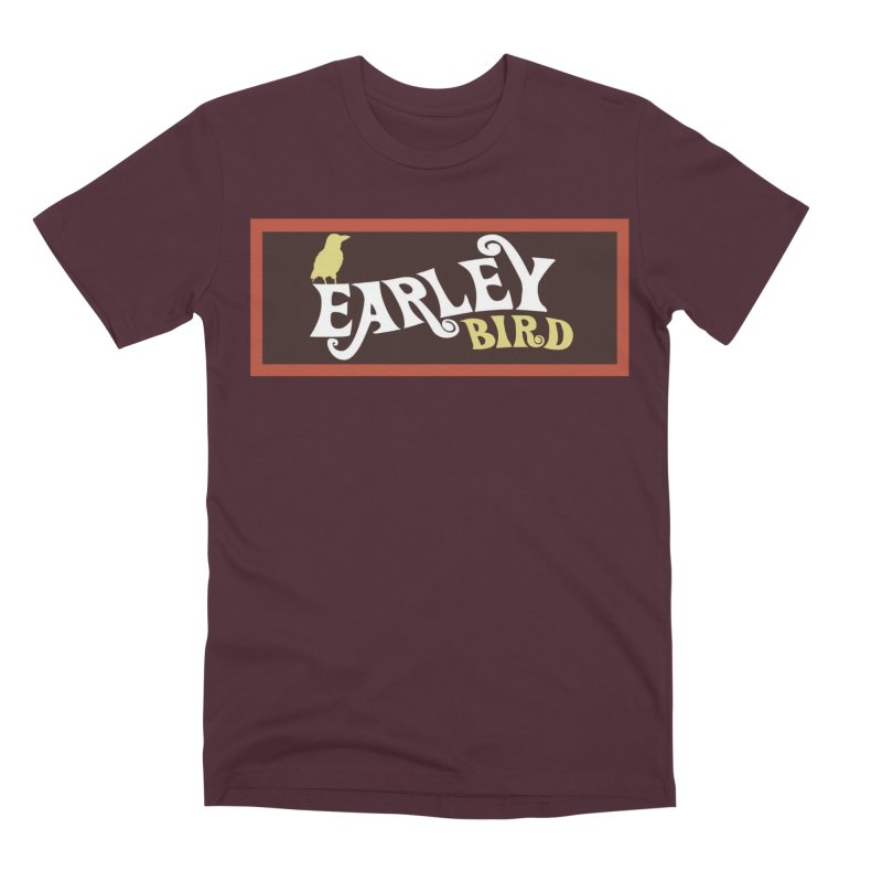 Earleybird Bar Men's Premium T-Shirt by birdboogie's Artist Shop