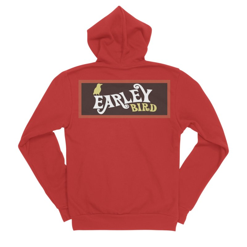 Earleybird Bar Men's Zip-Up Hoody by birdboogie's Artist Shop