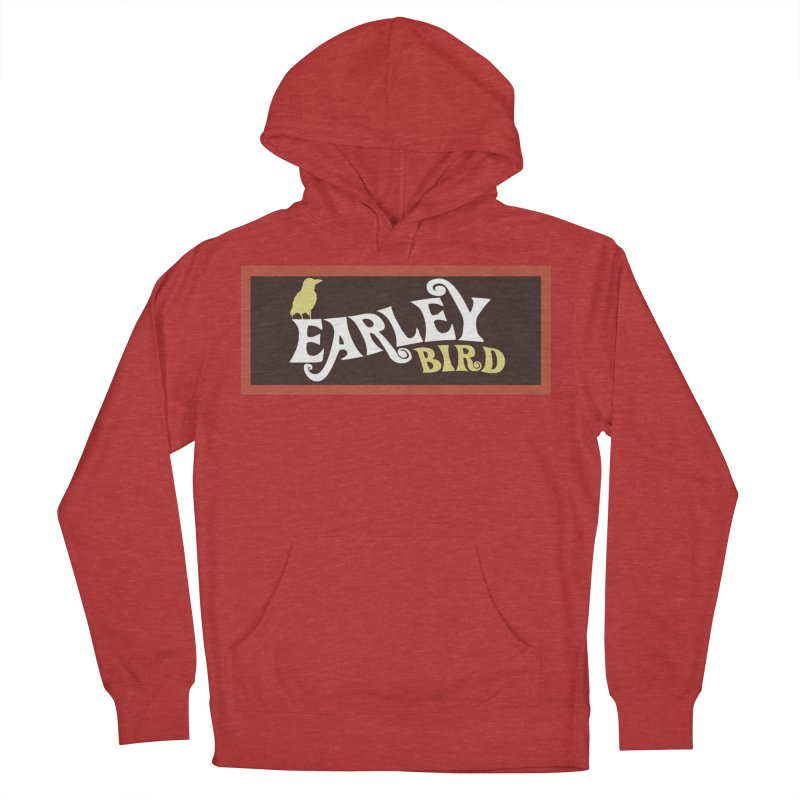 Earleybird Bar Men's French Terry Pullover Hoody by birdboogie's Artist Shop