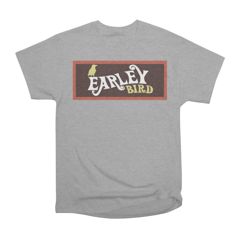 Earleybird Bar Men's Heavyweight T-Shirt by birdboogie's Artist Shop