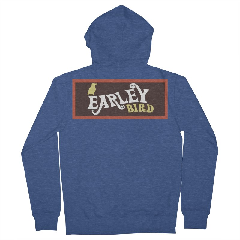 Earleybird Bar Men's French Terry Zip-Up Hoody by birdboogie's Artist Shop