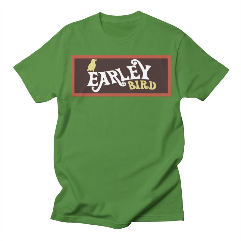 Earleybird Bar Men's T-Shirt by birdboogie's Artist Shop