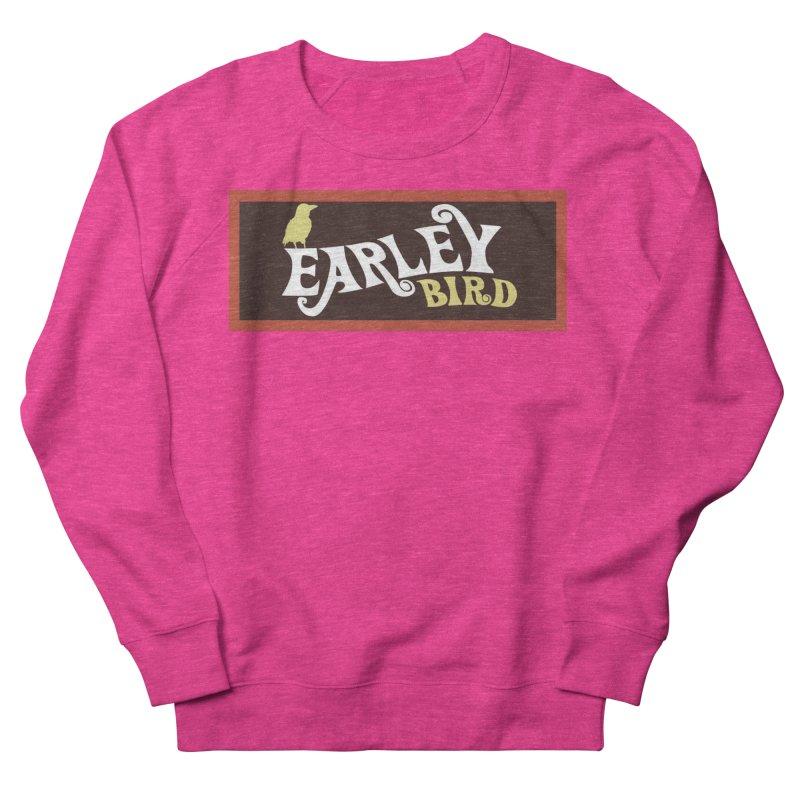 Earleybird Bar Women's French Terry Sweatshirt by birdboogie's Artist Shop