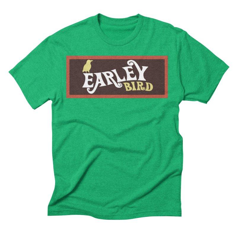 Earleybird Bar Men's Triblend T-Shirt by birdboogie's Artist Shop