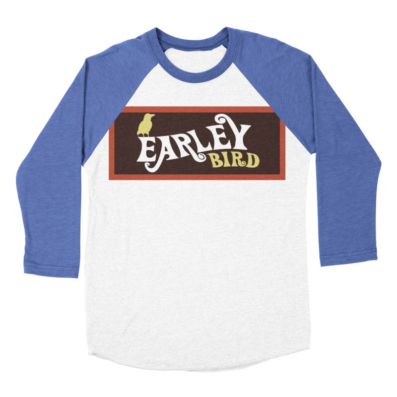 Earleybird Bar Women's Baseball Triblend Longsleeve T-Shirt by birdboogie's Artist Shop