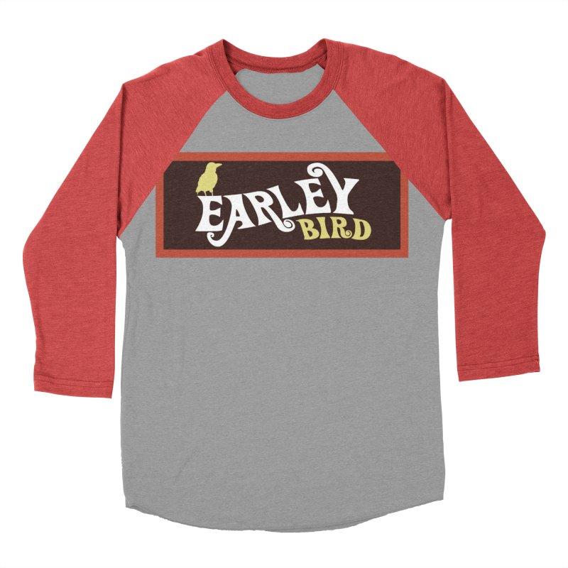 Earleybird Bar Women's Baseball Triblend Longsleeve T-Shirt by birdboogie's Artist Shop