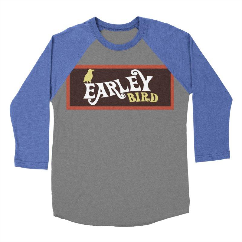 Earleybird Bar Men's Baseball Triblend Longsleeve T-Shirt by birdboogie's Artist Shop
