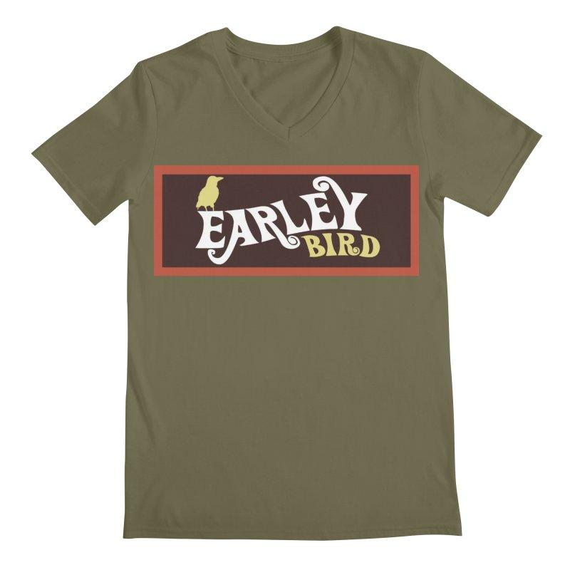 Earleybird Bar Men's Regular V-Neck by birdboogie's Artist Shop