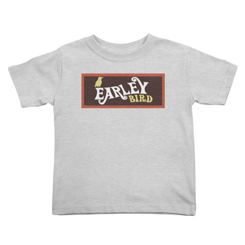 Earleybird Bar Kids Toddler T-Shirt by birdboogie's Artist Shop