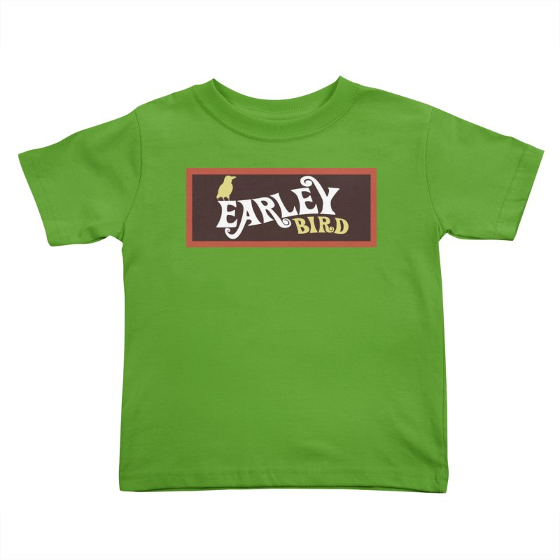 Earleybird Bar Kids Toddler T-Shirt by birdboogie's Artist Shop