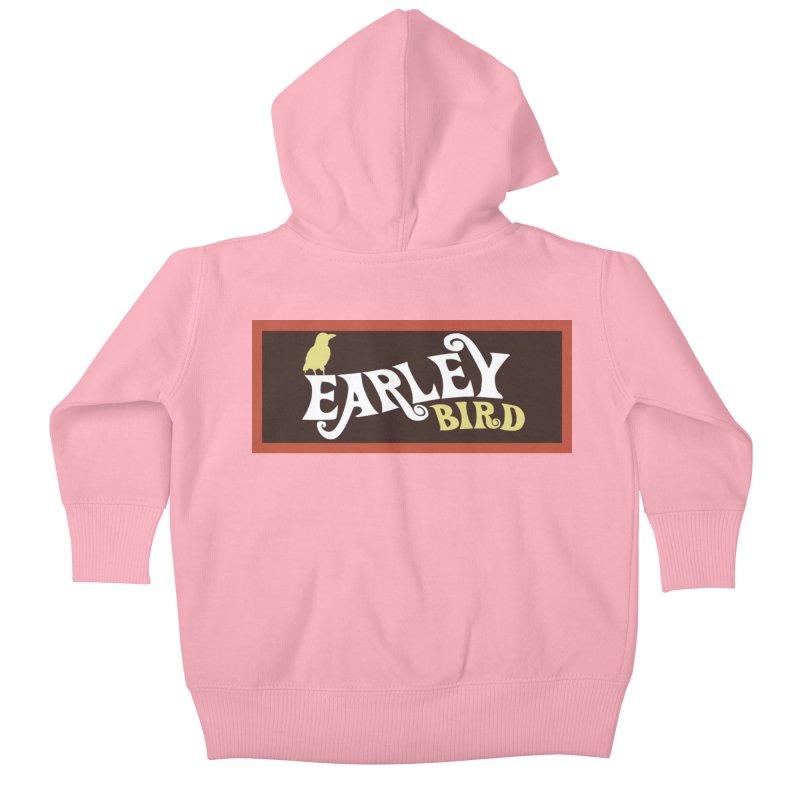Earleybird Bar Kids Baby Zip-Up Hoody by birdboogie's Artist Shop