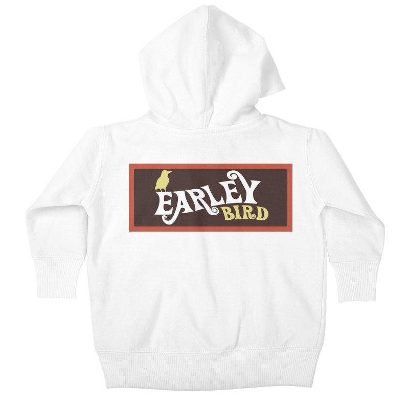 Earleybird Bar Kids Baby Zip-Up Hoody by birdboogie's Artist Shop