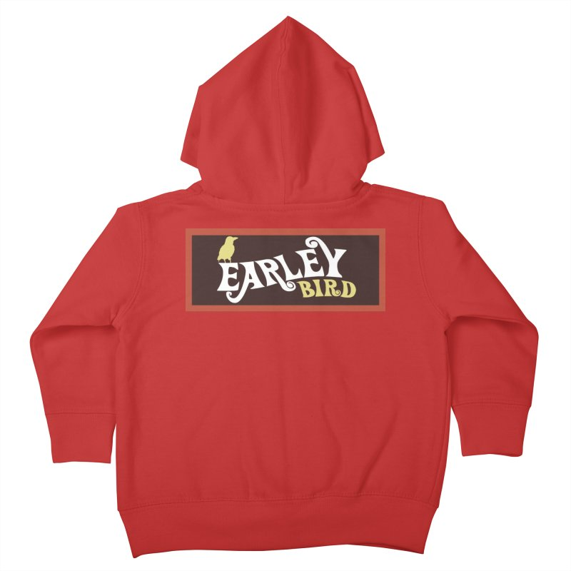 Earleybird Bar Kids Toddler Zip-Up Hoody by birdboogie's Artist Shop
