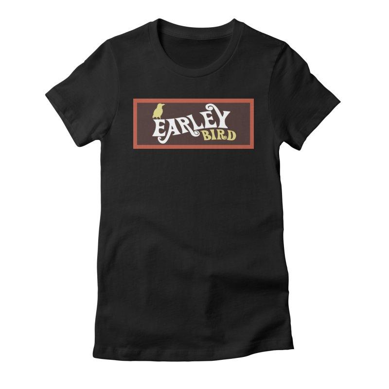 Earleybird Bar Women's Fitted T-Shirt by birdboogie's Artist Shop