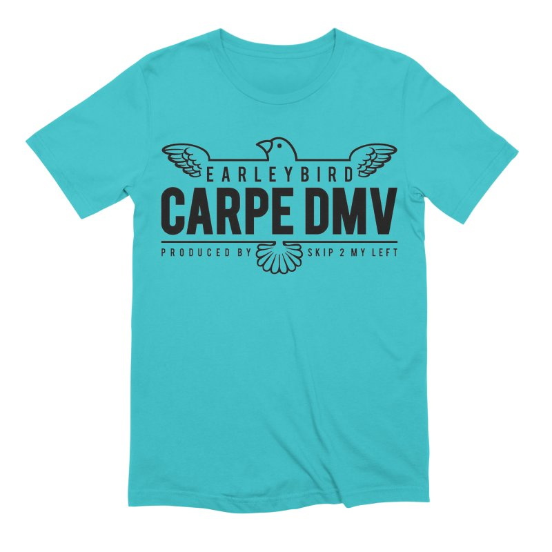 Carpe DMV Men's Extra Soft T-Shirt by birdboogie's Artist Shop