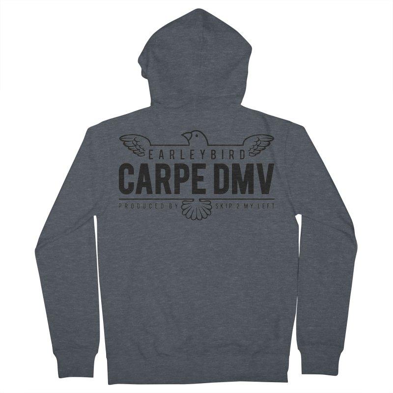 Carpe DMV Men's French Terry Zip-Up Hoody by birdboogie's Artist Shop