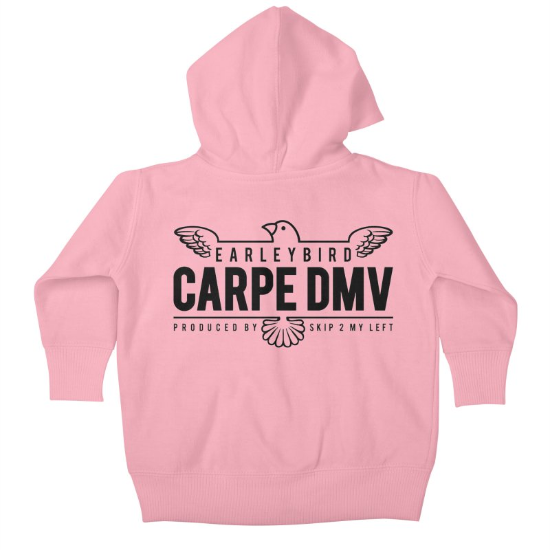 Carpe DMV Kids Baby Zip-Up Hoody by birdboogie's Artist Shop