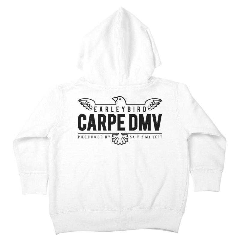 Carpe DMV Kids Toddler Zip-Up Hoody by birdboogie's Artist Shop