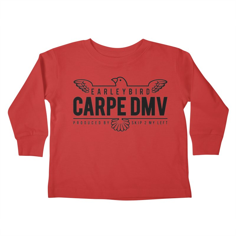 Carpe DMV Kids Toddler Longsleeve T-Shirt by birdboogie's Artist Shop