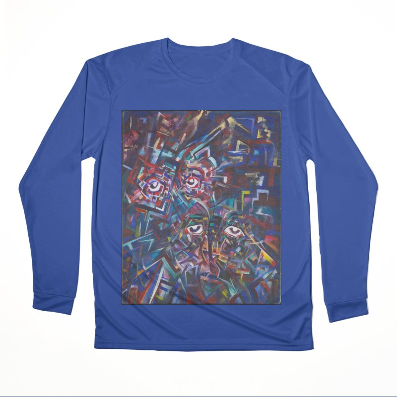 1997 Original Painting Men's Performance Longsleeve T-Shirt by birdboogie's Artist Shop