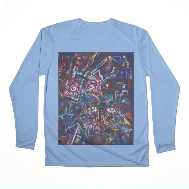 1997 Original Painting Men's Longsleeve T-Shirt by birdboogie's Artist Shop