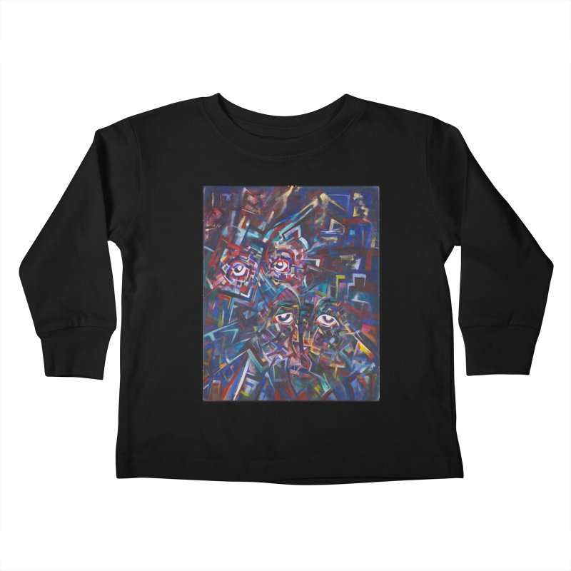 1997 Original Painting Kids Toddler Longsleeve T-Shirt by birdboogie's Artist Shop
