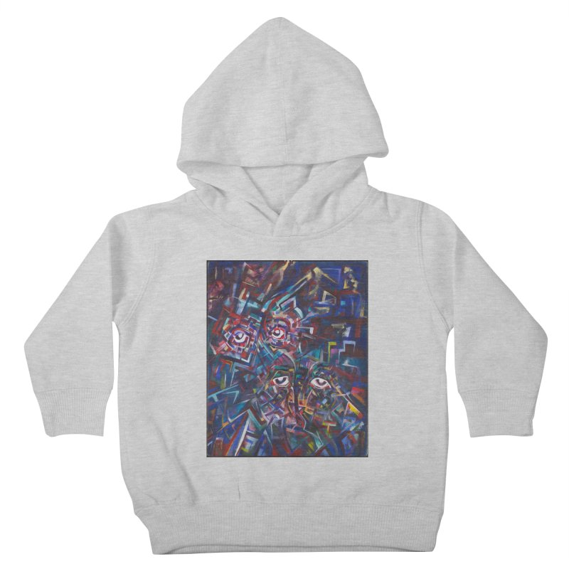 1997 Original Painting Kids Toddler Pullover Hoody by birdboogie's Artist Shop
