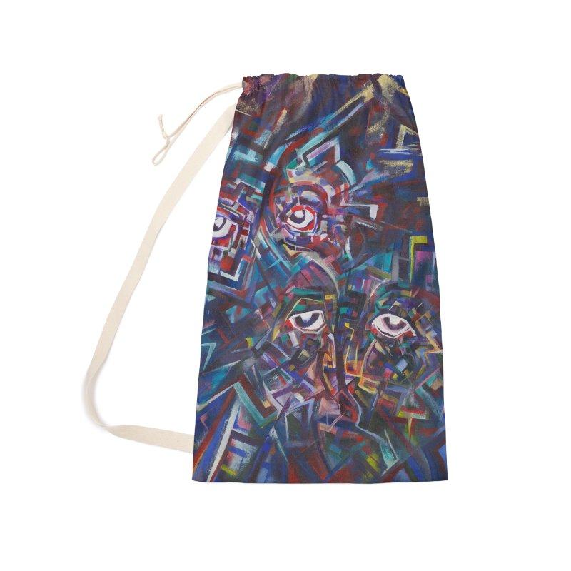 1997 Original Painting Accessories Bag by birdboogie's Artist Shop