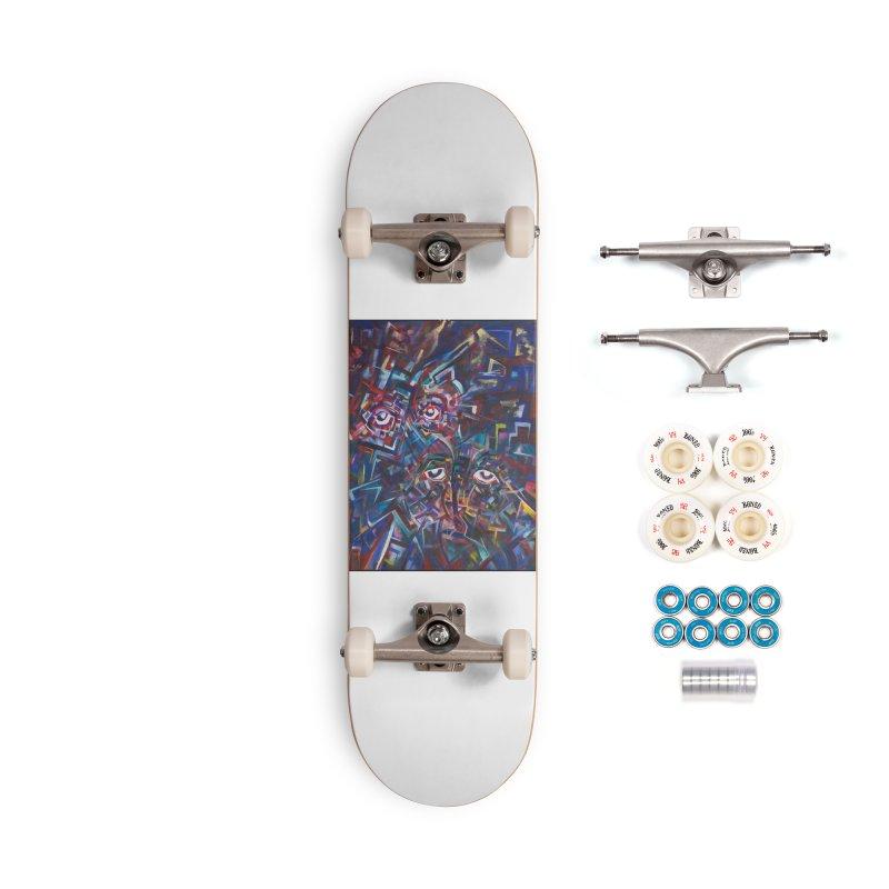 1997 Original Painting Accessories Complete - Premium Skateboard by birdboogie's Artist Shop