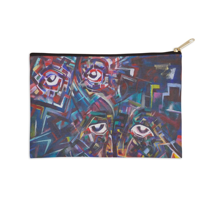 1997 Original Painting Accessories Zip Pouch by birdboogie's Artist Shop