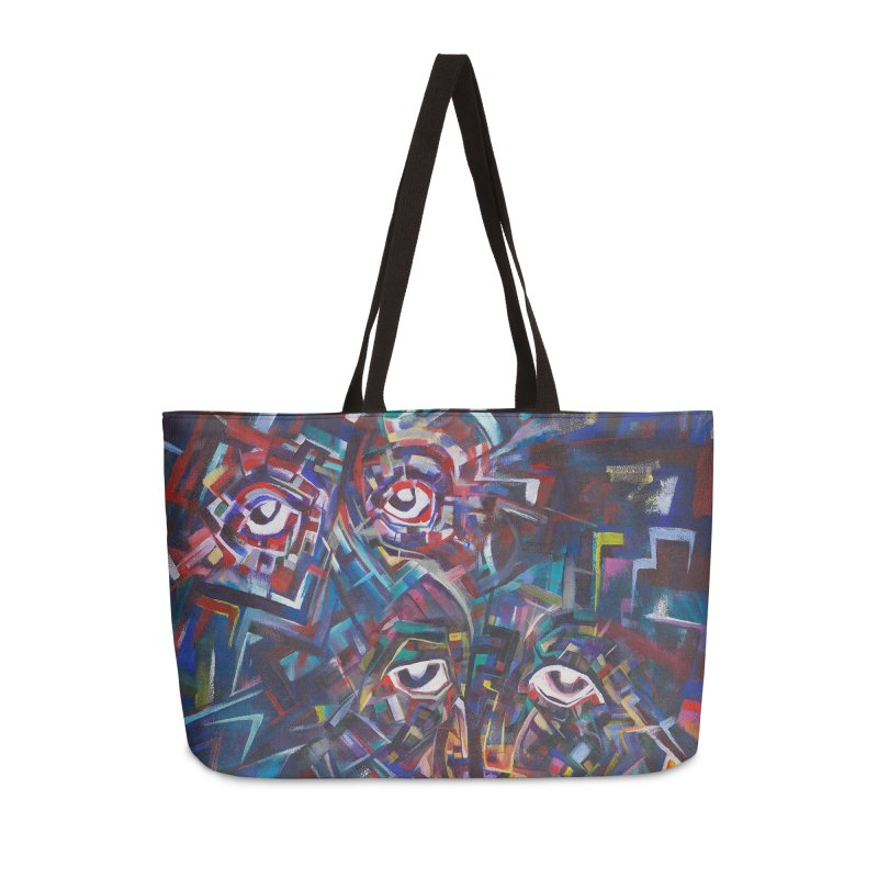 1997 Original Painting Accessories Weekender Bag Bag by birdboogie's Artist Shop