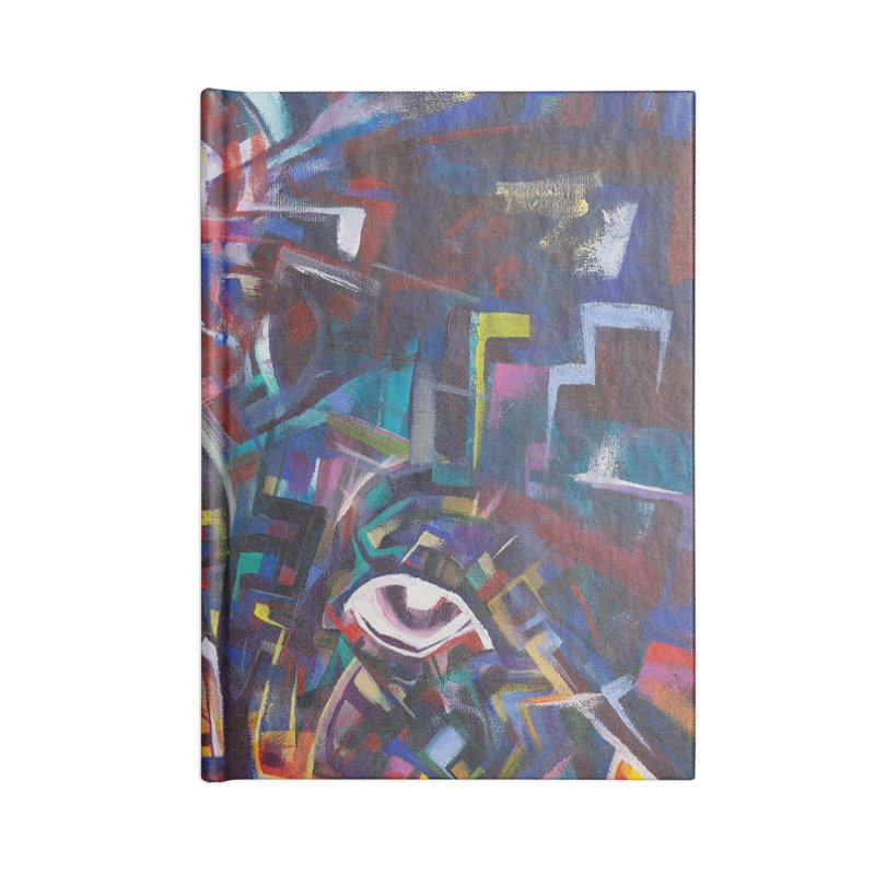 1997 Original Painting Accessories Blank Journal Notebook by birdboogie's Artist Shop