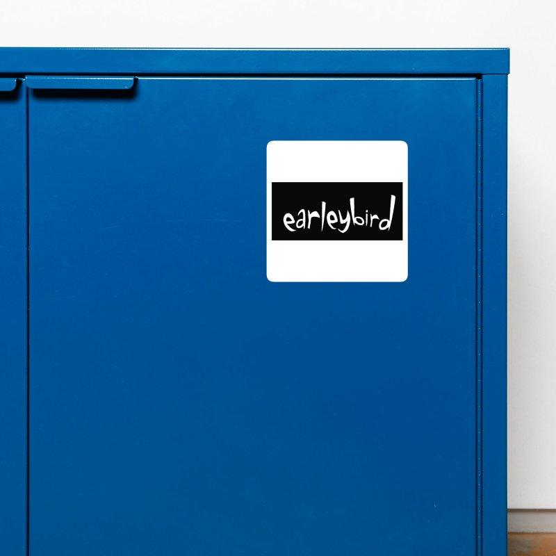 Earleybird logo Accessories Magnet by birdboogie's Artist Shop