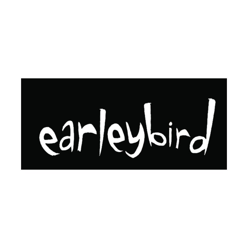 Earleybird logo Accessories Sticker by birdboogie's Artist Shop