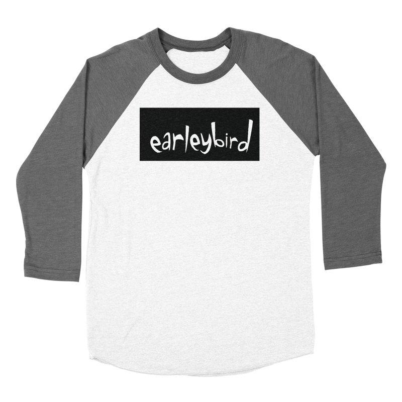 Earleybird logo Women's Longsleeve T-Shirt by birdboogie's Artist Shop