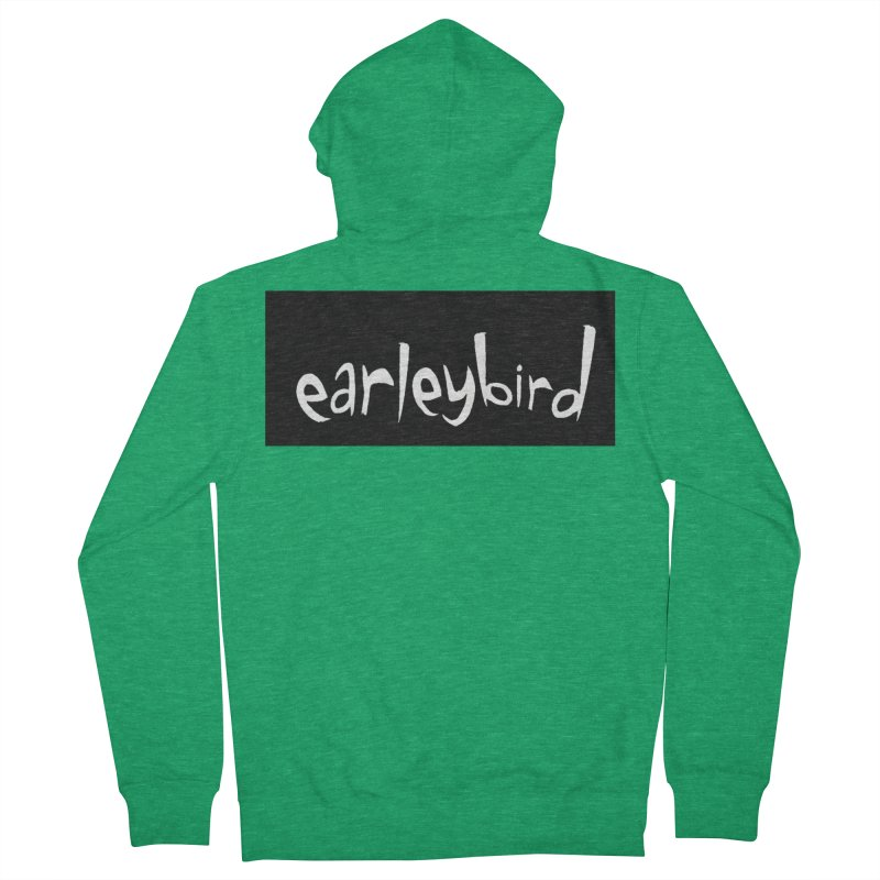 Earleybird logo Women's Zip-Up Hoody by birdboogie's Artist Shop