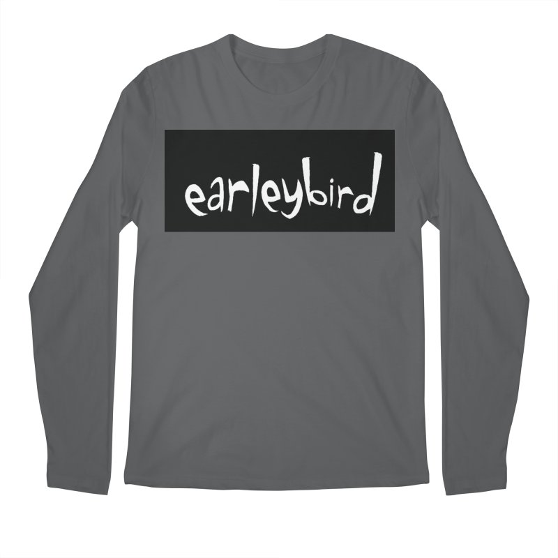 Earleybird logo Men's Longsleeve T-Shirt by birdboogie's Artist Shop