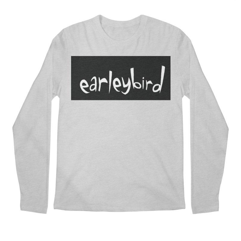 Earleybird logo Men's Longsleeve T-Shirt by birdboogie's Artist Shop