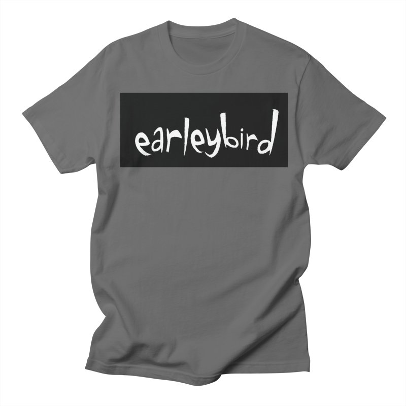 Earleybird logo Men's T-Shirt by birdboogie's Artist Shop