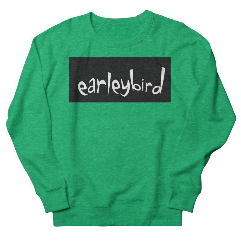 Earleybird logo Women's Sweatshirt by birdboogie's Artist Shop