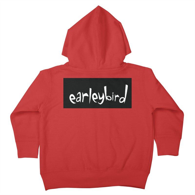 Earleybird logo Kids Toddler Zip-Up Hoody by birdboogie's Artist Shop