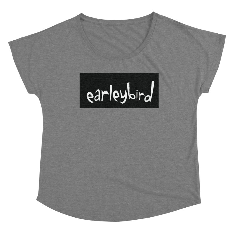 Earleybird logo Women's Scoop Neck by birdboogie's Artist Shop